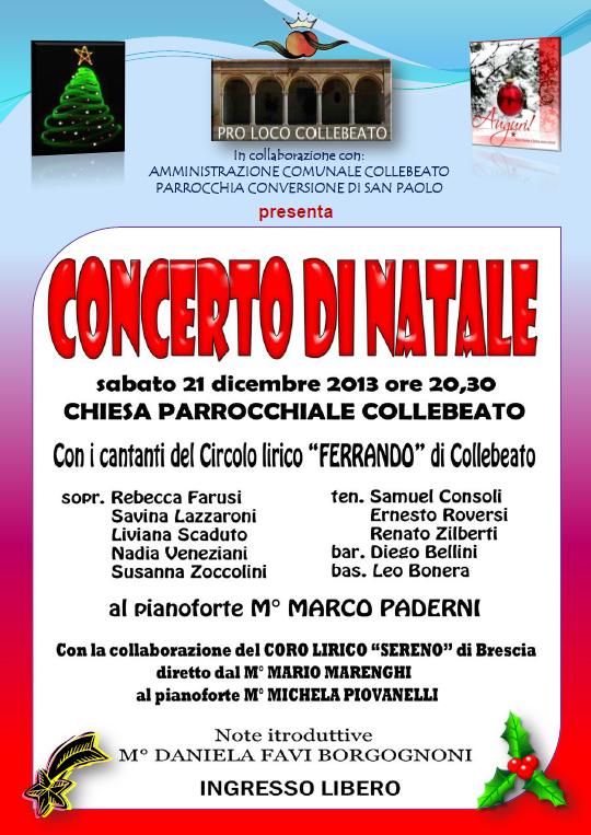 concerto natale 2013